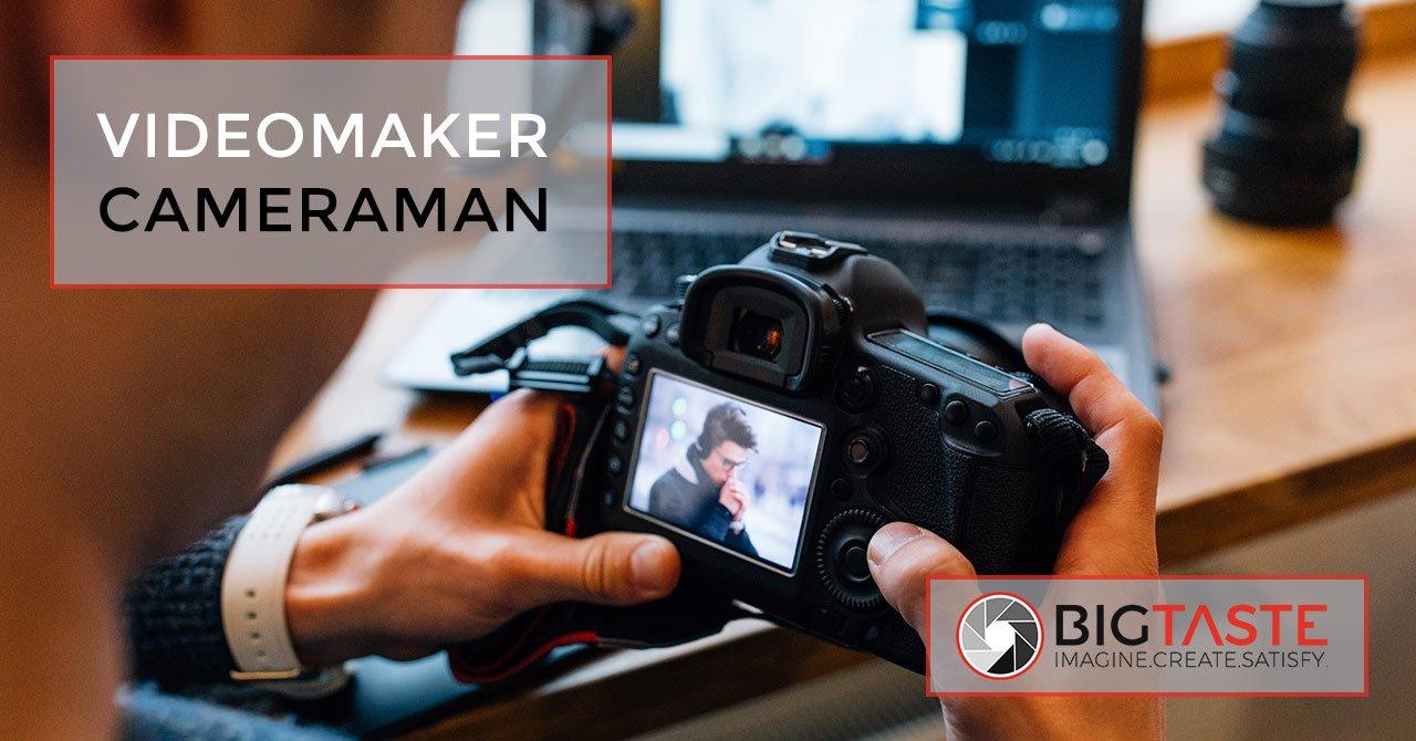 videomaker cameraman